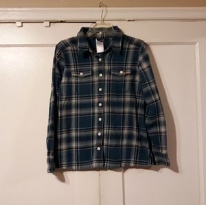 Patagonia Women's Plaid Flannel Size 6